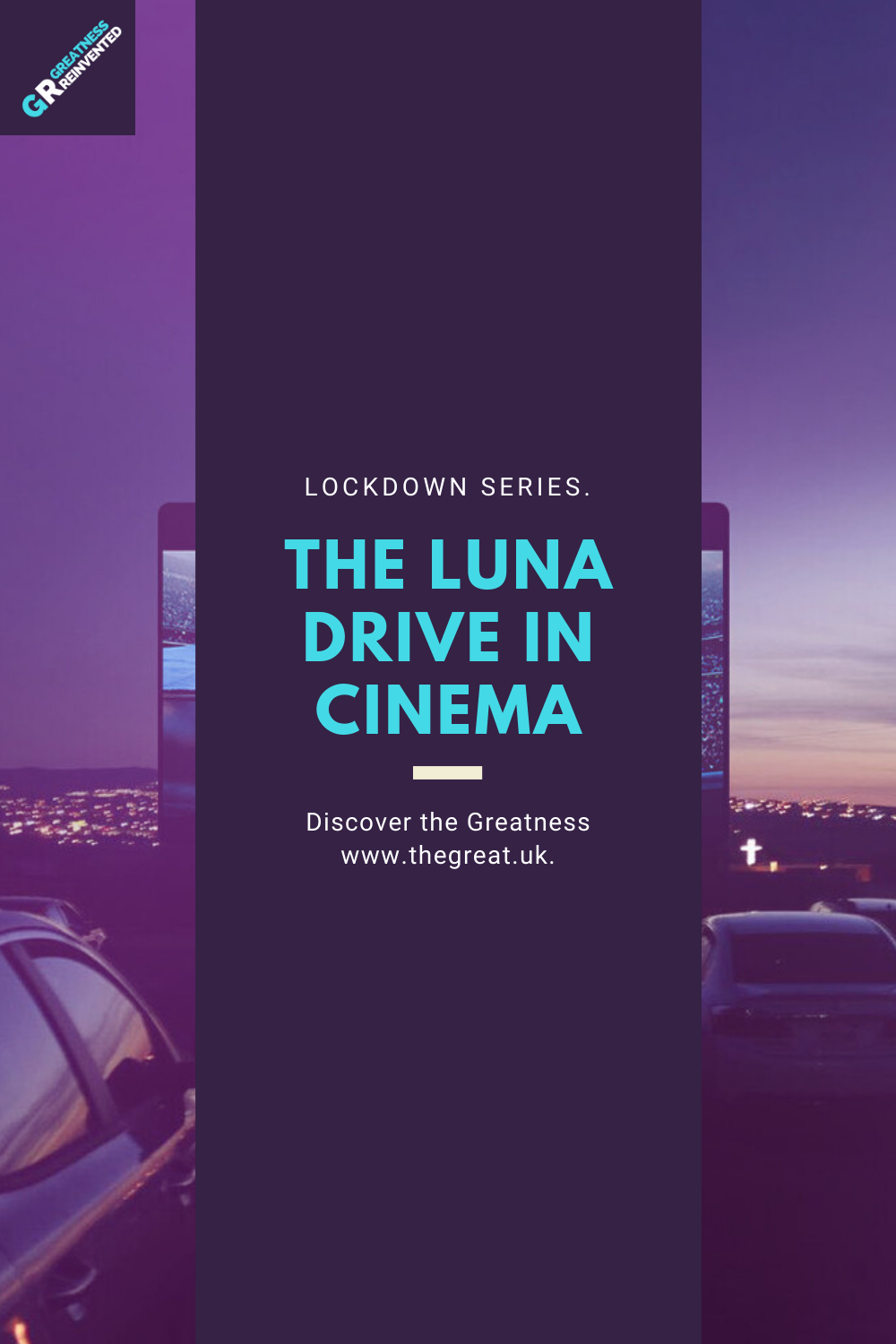 luna drive in cinema pin