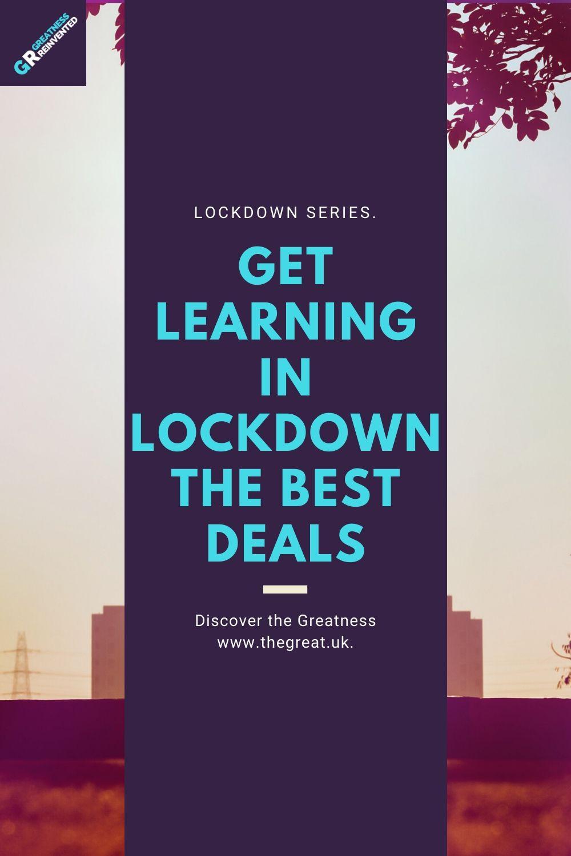 Get learning in lockdown the best deals