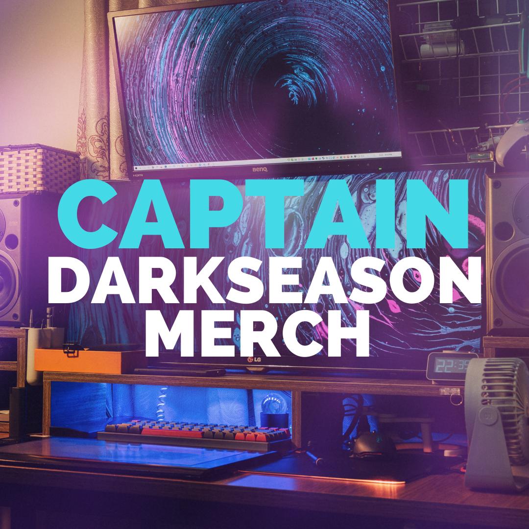 Captain Darkseason Twitch Merch