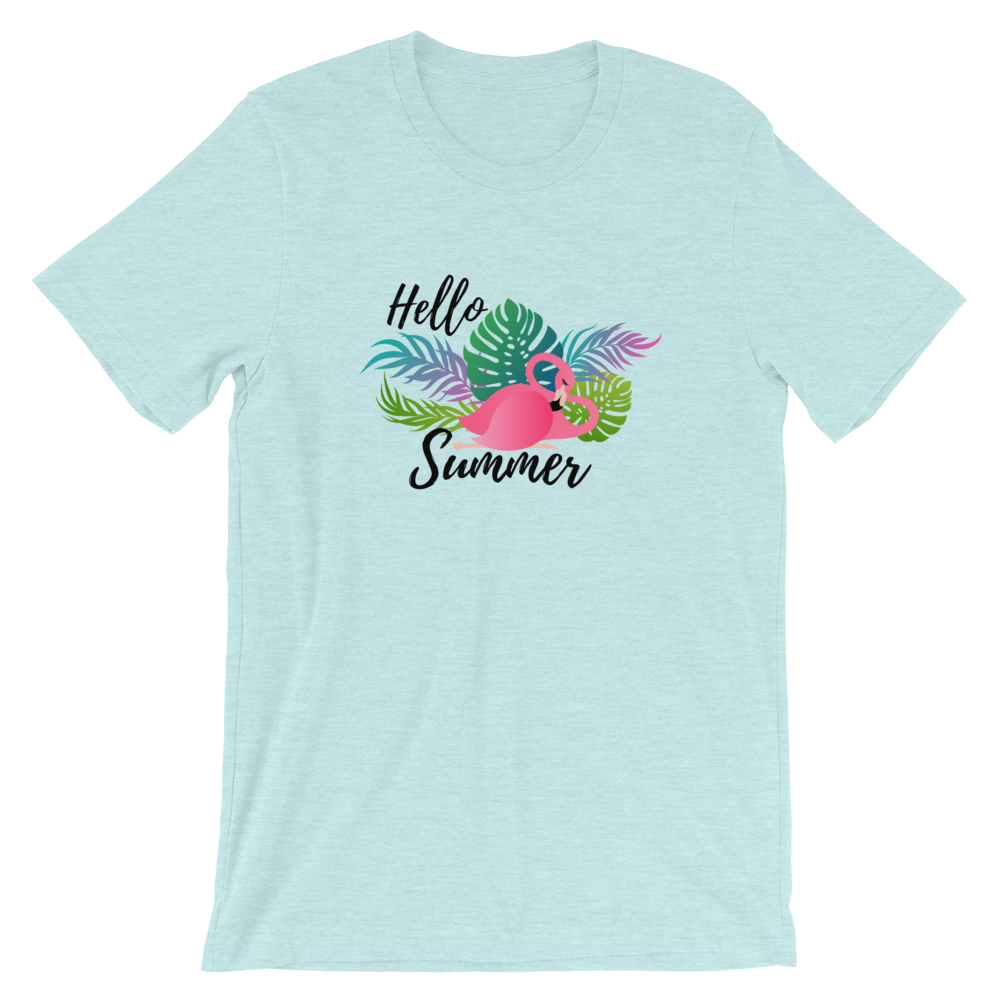 Hello summer eco t-shirt