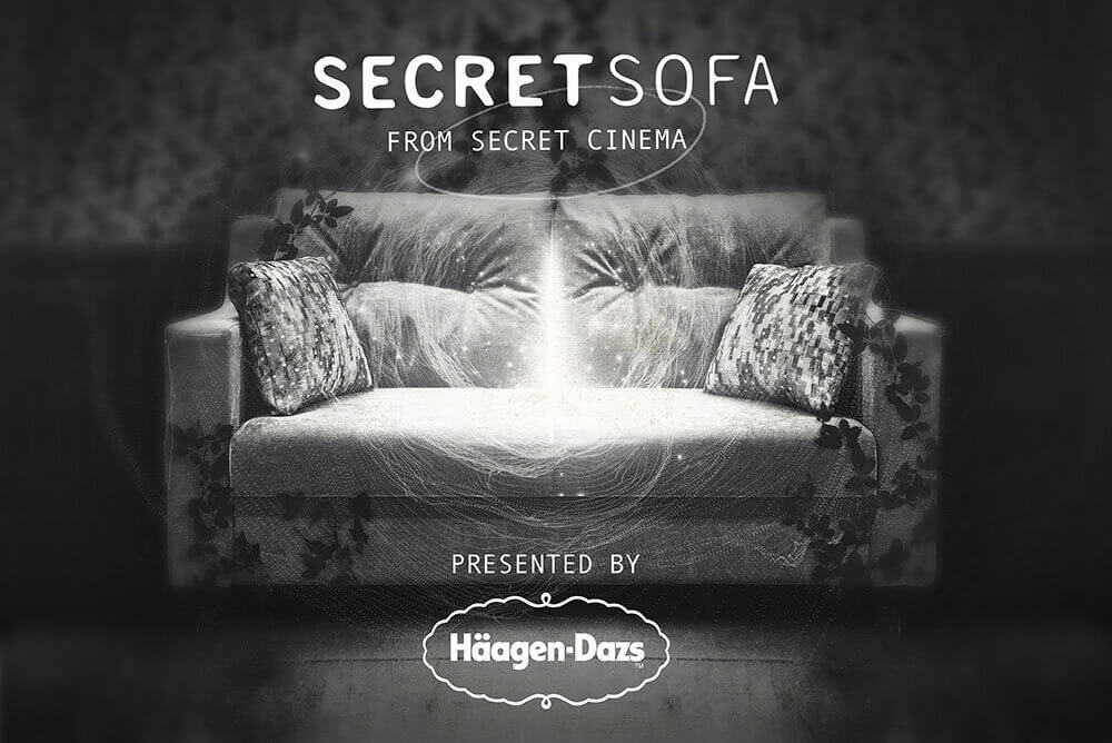 Secret Cinema Secret Sofa