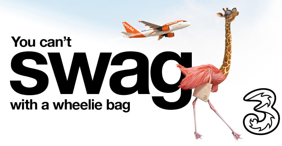 EasyJet Flight Upgrades on Three
